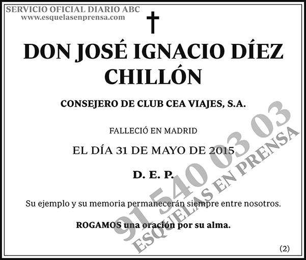 José Ignacio Díez Chillón